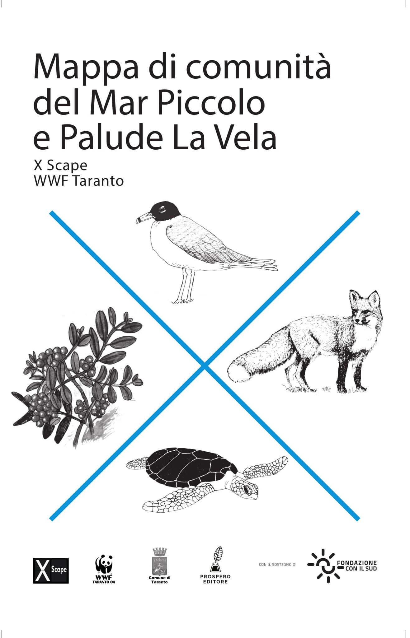 Mappa di comunità del Mar Piccolo e Palude La Vela-image